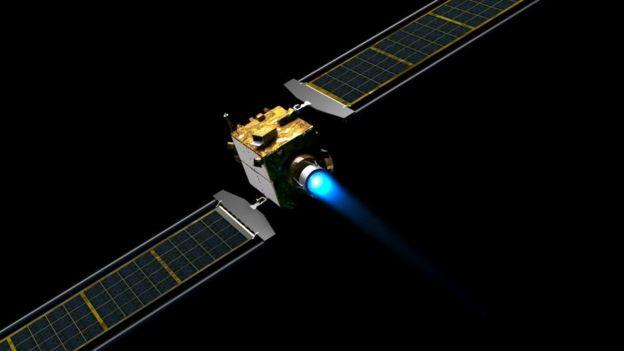 Cómo es Dimorphos, el asteroide que la NASA intentará desviar en su primera misión de defensa planet _113139844_dartpture