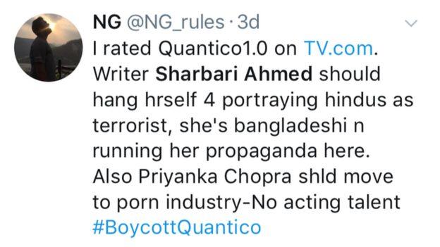 Sharbari Zohra Ahmed/Twitter