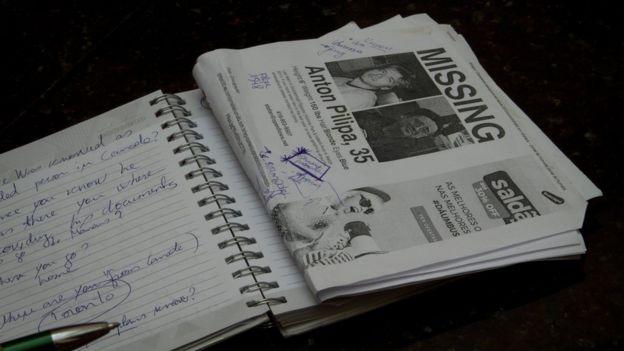jornal desaparecido