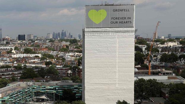 حريق برج غرينفيل: حكاية رانيا والبث الحي لصور الكارثة