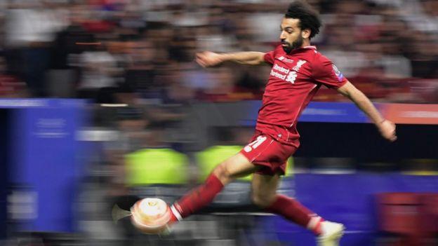 صلاح سجل هدفا في الدقيقة الثانية من المباراة
