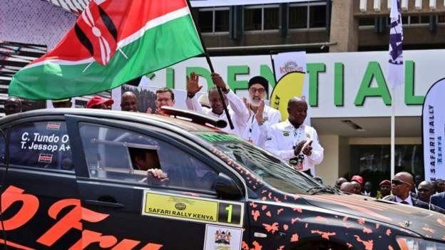 Retour du Kenya dans le Championnat du Monde des Rallyes