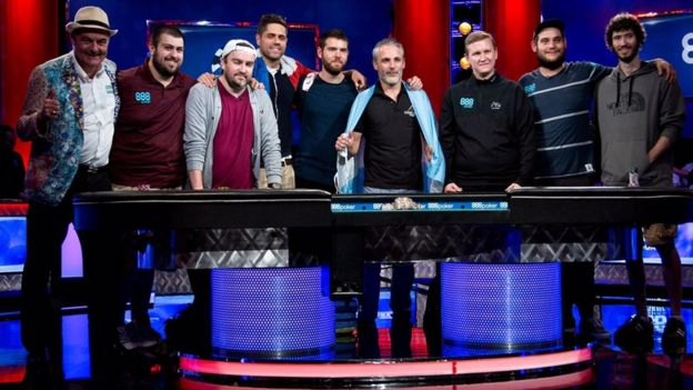 The final nine main event players