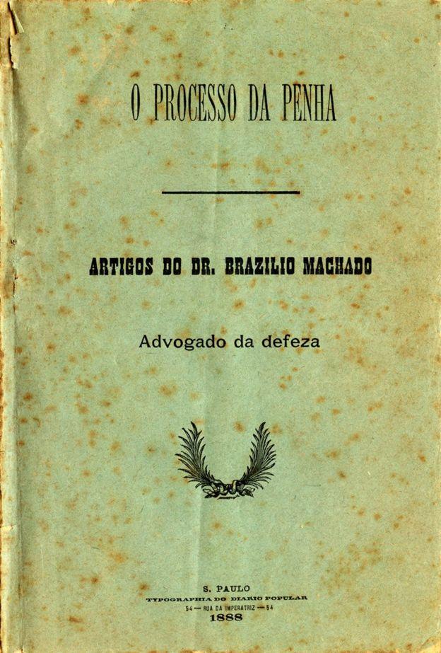 Escritos do advogado de defesa dos acusados, Brasília Machado