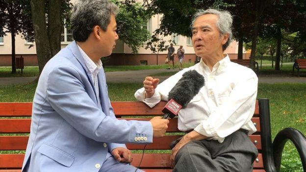Giáo sư Ngô Vĩnh Long (phải)