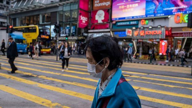 Mujer en Tokio
