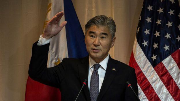 Đại sứ Mỹ tại Philippines ông Sung Kim
