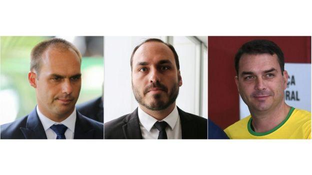 hijos de Bolsonaro