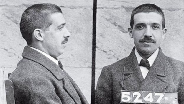 Tras varias semanas de investigación, Ponzi admitió que no podía pagar sus deudas y fue encarcelado.