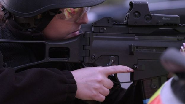 Firearms training: Three months of demanding tests