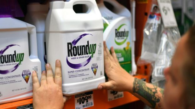 Container of Roundup