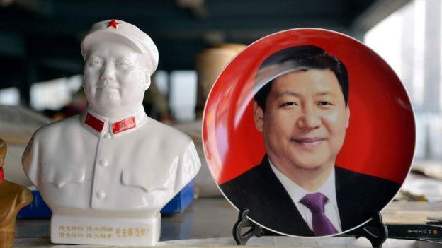 習近平與毛澤東