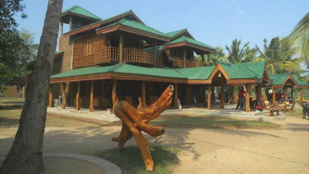 Lagoon's Edge Hotel in Sri Lanka - taken from the resort's Facebook page - 29 November 2012