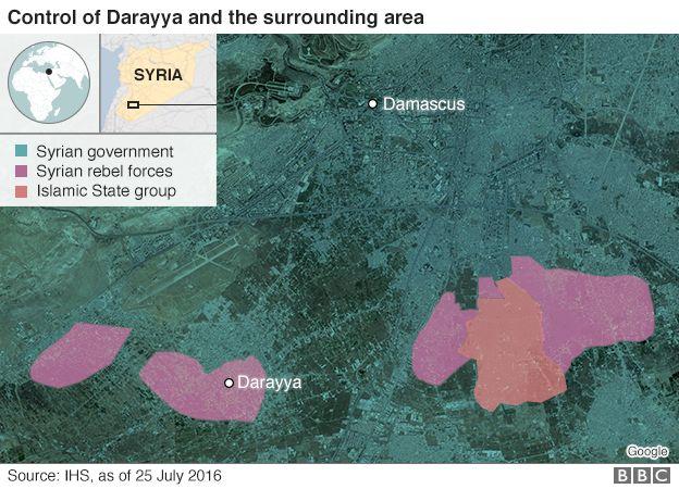 Darayya and Damascus