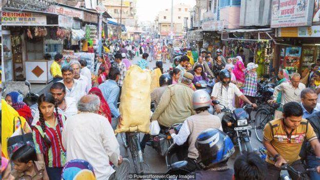 2050年,印度國內生產總值預計將佔全世界的15%