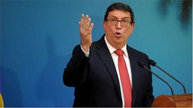 Bộ trưởng Ngoại giao Cuba Bruno Rodriguez