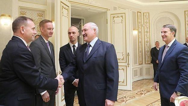 Встреча Лукашенко с американскими аналитиками