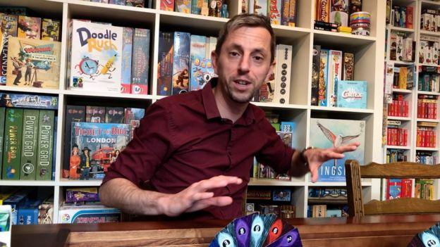 Games designer Adam Porter
