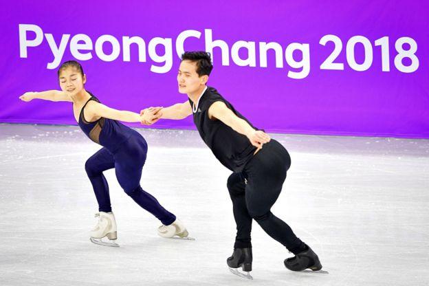 Ryom Tae Ok and Kim Ju Sik