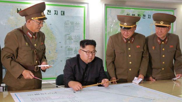 Cách đây không lâu, Bắc Hàn vẫn còn đang thử nghiệm tên lửa hạt nhân