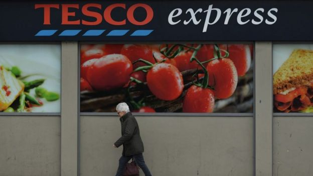 John lewis takes 36m hit for minimum wage error bbc news a tesco store stopboris Image collections