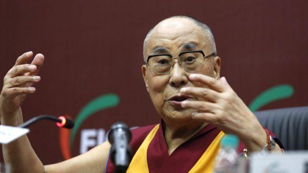 中國一直堅決反對任何外國政要會見達賴喇嘛