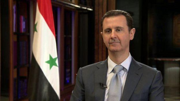 Rais Bashar Al Asaad wa Syria