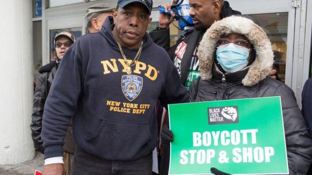 Protesta con boicot.