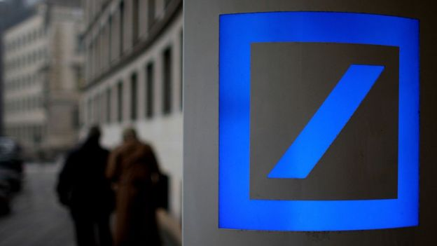 Logo de Deutsche Bank.