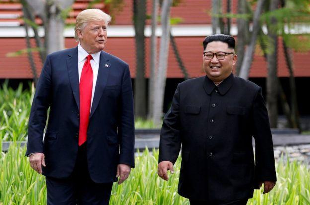 自今年以來,朝鮮與韓國、美國關係急速緩和,朝韓領導人已分別於4月、5月舉行兩次會晤,美國總統特朗普與金正恩6月在新加坡舉行歷史性會談。