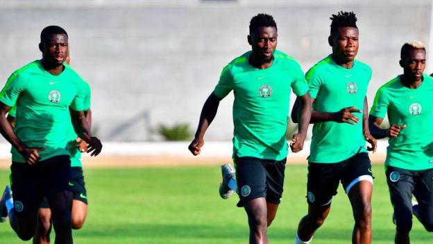 Les joueurs nigérians ont également boycotté une séance d'entraînement en signe de protestation contre les bonus non payés.