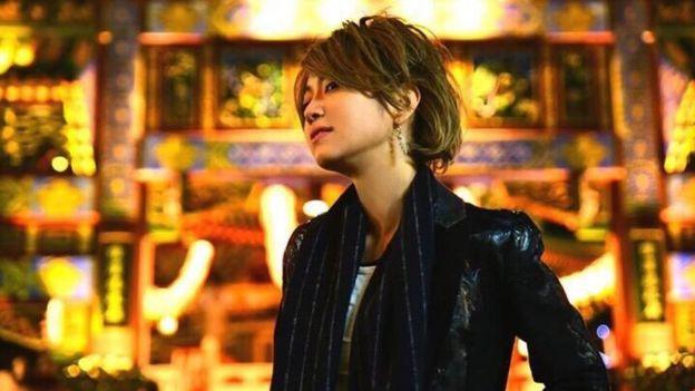 Singer Charlie Shikazaki