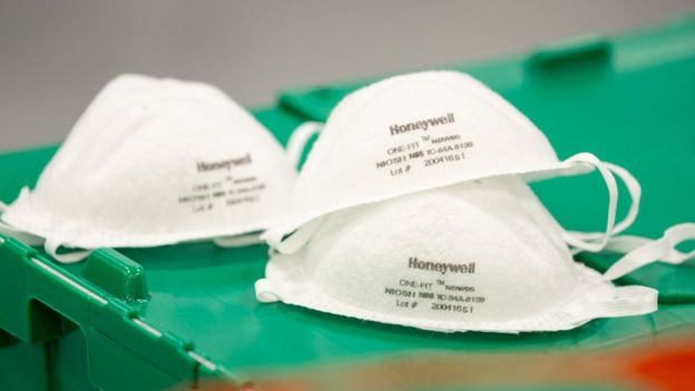 Línea de producción de Honeywell.