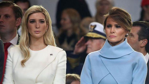 Ivanka Trump y Melania Trump
