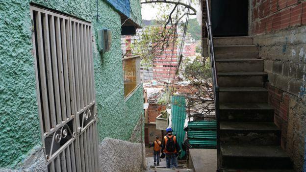 Escaleras en La Vega