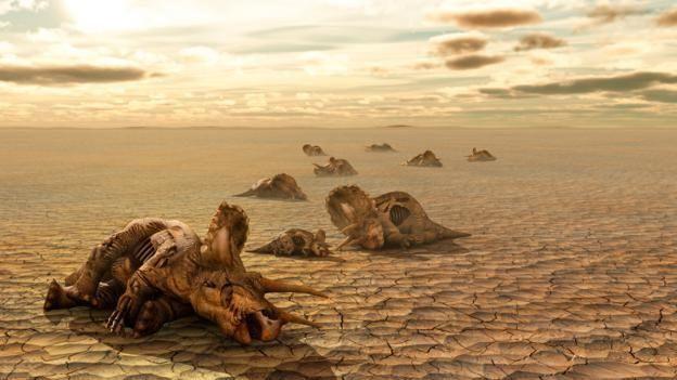 Dinozavrların ölümü