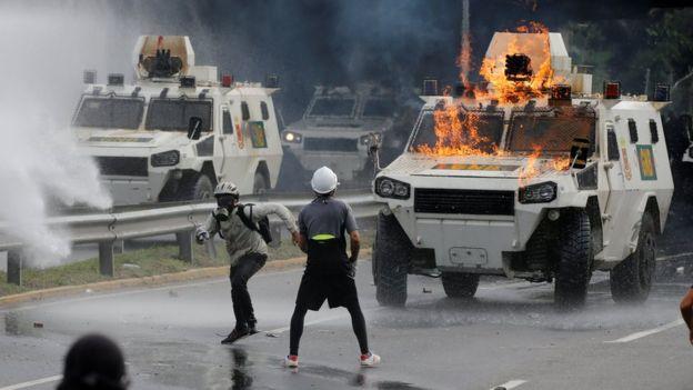 Protestas del 1 de mayo