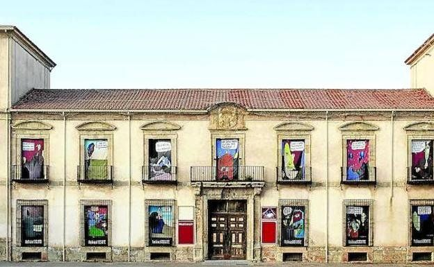 Medinaceli's Ducal Palace is now an art gallery, as well as hosting the music festival