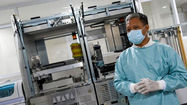 virus corona, pcr, swab, test kit,