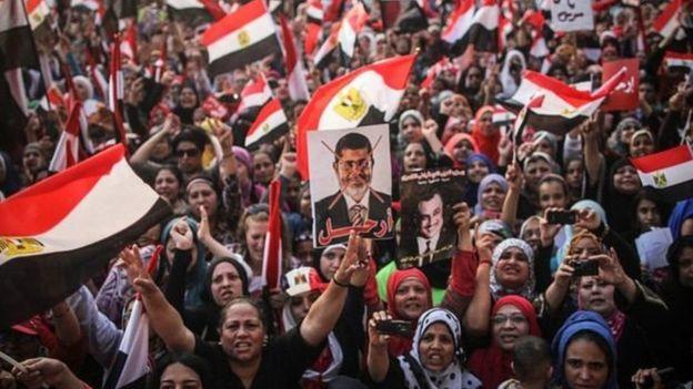 محمد مرسی کے حامی