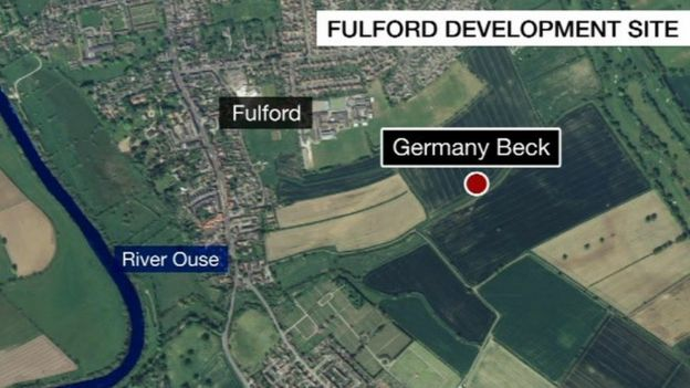 UK Floods Germany Beck Homes Would Increase Flood Strain BBC News - Germany beck york map