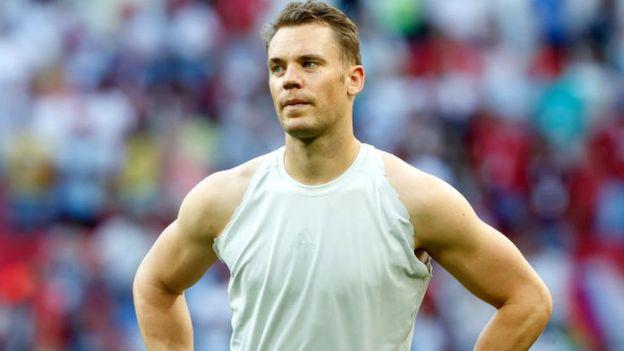 Manuel Neuer, portero de la selección alemana.