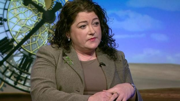 Former Victims' Commissioner Patricia MacBride