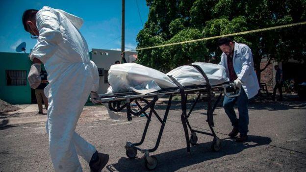 Cadáver en México