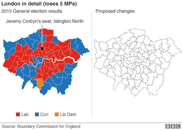 London boundary changes