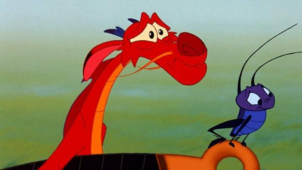 Mushu and Cri-Kee