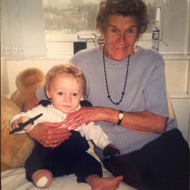 Patrick Kane quando criança