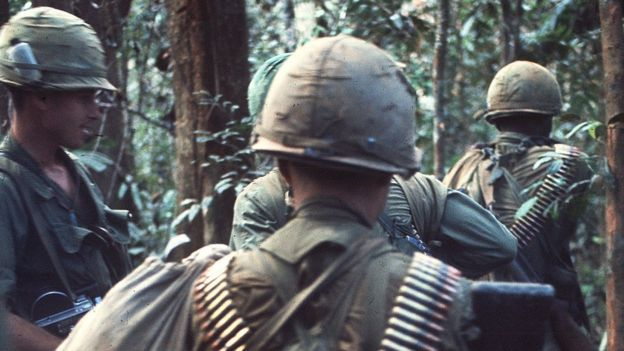 Image of soldiers of South Vietnam in 1967