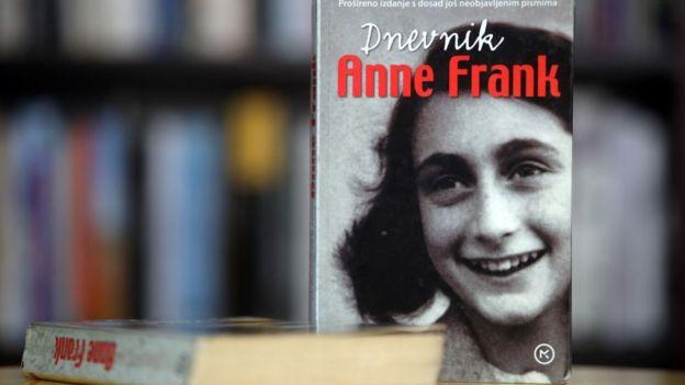 Copia del diario de Ana Frank.
