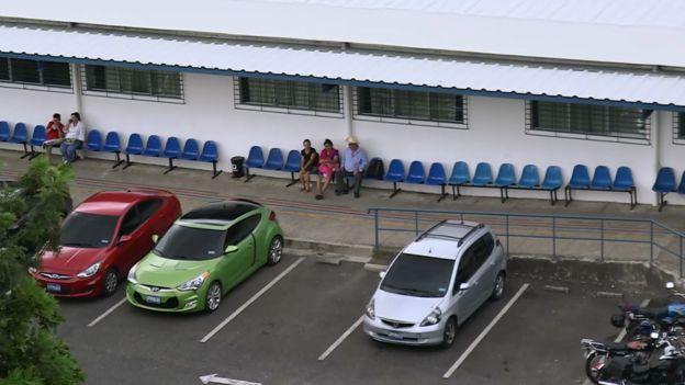 Estacionamiento del hospital